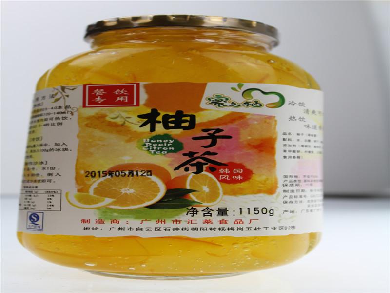 柚子茶 蜂蜜柚子茶 韩国风味柚子茶 花果茶饮料