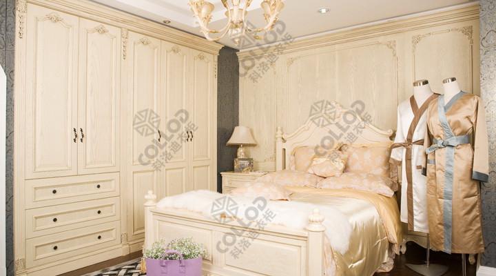 欧式衣柜定做 价格合理的欧式衣柜厦门科洛迪家居供应