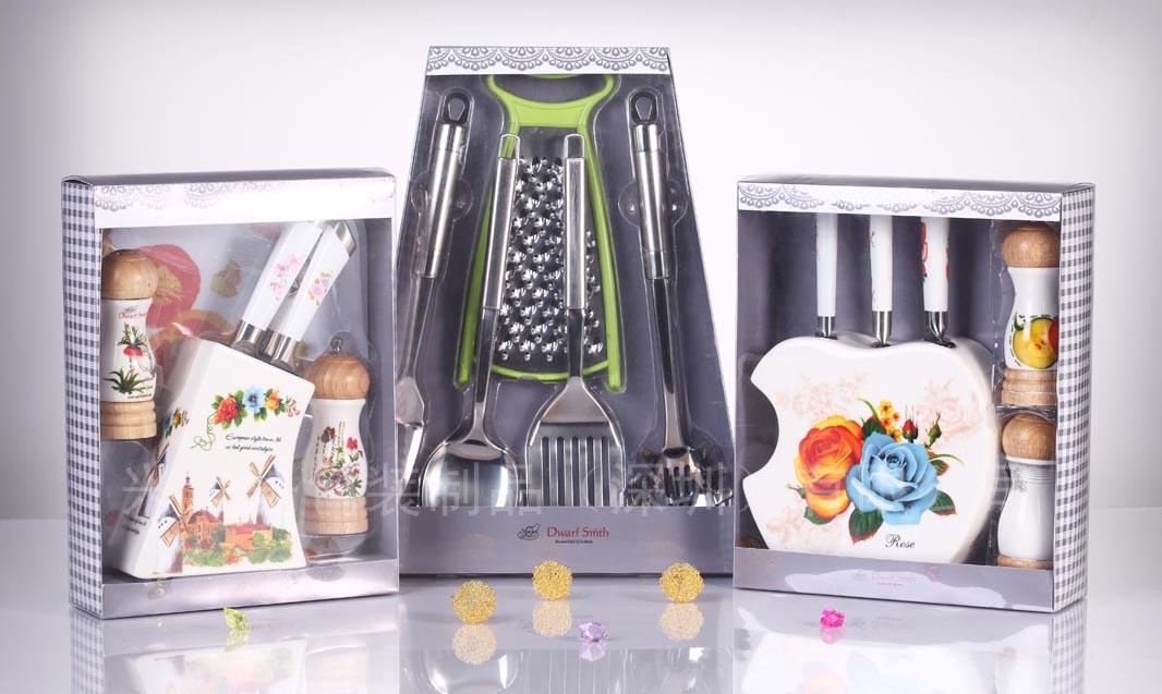 深圳平湖PVC印刷包装盒厂 五金陶瓷餐具厨具茶具包装盒