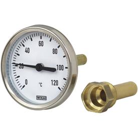 买WIKA双金属温度计A50上哪买好 WIKA不锈钢双金属温度计