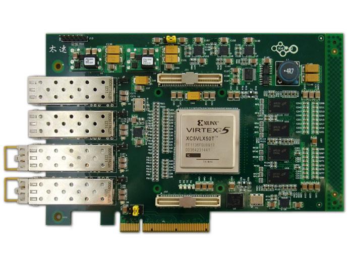 四路光纤PCIE卡
